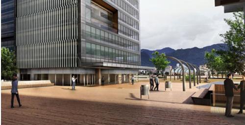 The Ciudad Empresarial Sarmiento Angulo